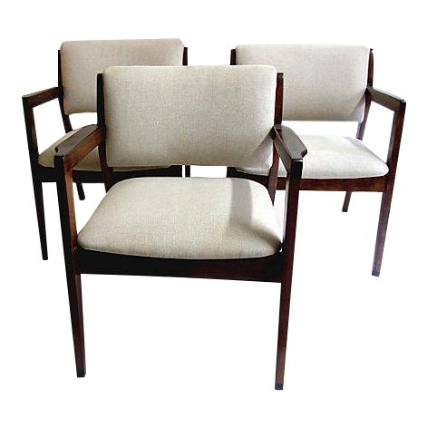 Mid-Century Armchairs - Set of 3 - Image 1 of 5