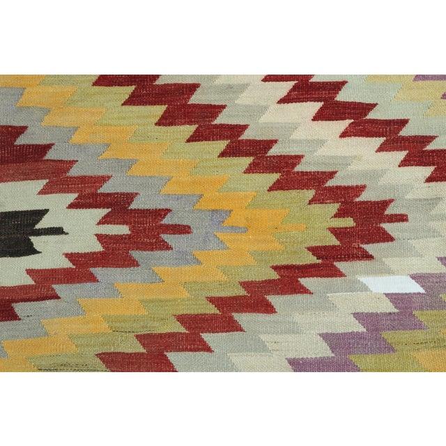Rug & Kilim Vintage Turkish Kilim Rug For Sale - Image 4 of 13