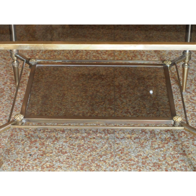 Jansen Style Coffee Table For Sale In New Orleans - Image 6 of 9