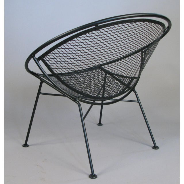 1950s Pair of Salterini 'Radar' Collection Lounge Chairs by Tempestini For Sale - Image 5 of 7