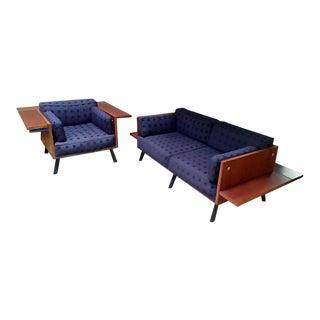 Knoll Salsa 2-Seat Sofa and Lounge Chair