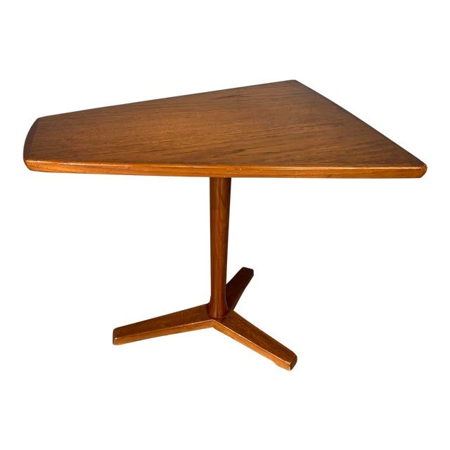 1960s Mid-Century Swedish Modern Dux Teak Side Table For Sale