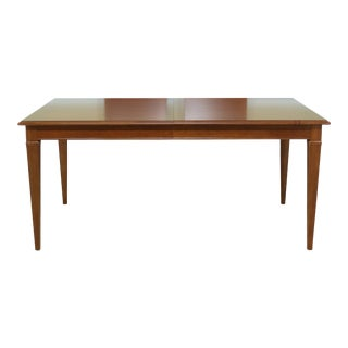 Thomasville Cherry Dining Room Extension Table For Sale