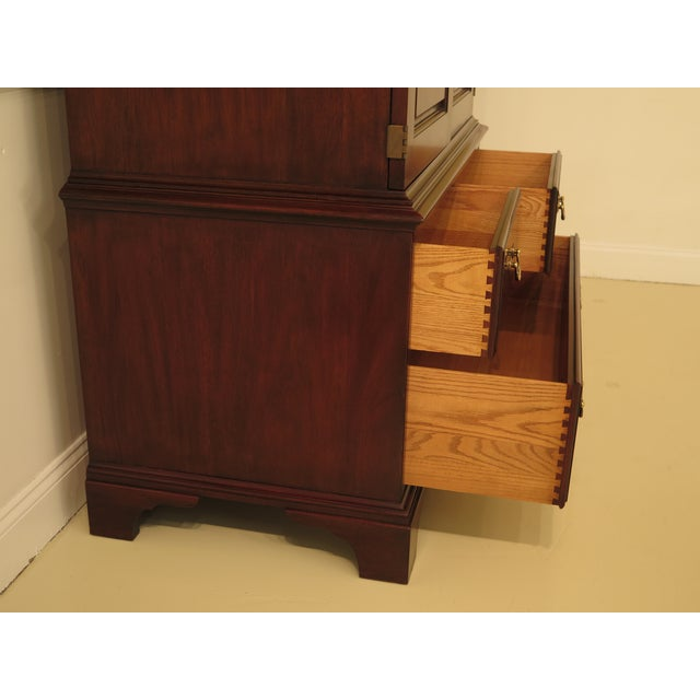 Henkel Harris Mahogany Arched Top Armoire For Sale In Philadelphia - Image 6 of 13