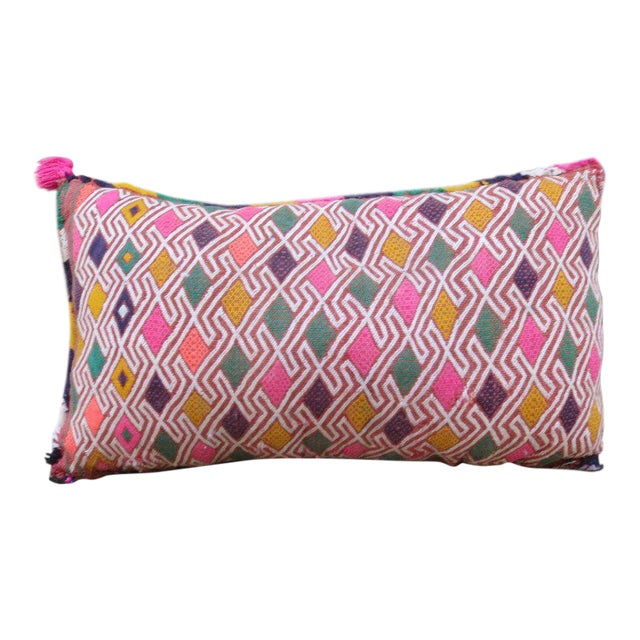 Moroccan Berber Wool Pillow For Sale