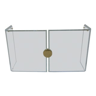 1970's Vintage Lucite Console Table For Sale
