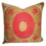 Image of Suzani Bolinpush Accent Pillow For Sale