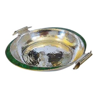 Los Castillos Mexican Hand Hammered Bowl For Sale
