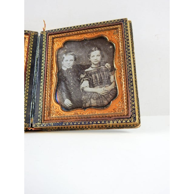 Mother of Pearl & Silver Inlay Daguerreotype Case - Image 6 of 6