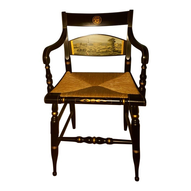 Hamilton College Hitchcock Accent Chair - Image 1 of 11