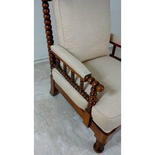 1980s Robert Scott Walnut Accent Chair Preview