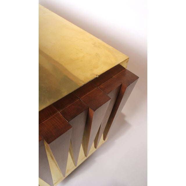 1970s Custom Paolo Buffa Attributed Credenza for Hotel in Italy For Sale - Image 9 of 10