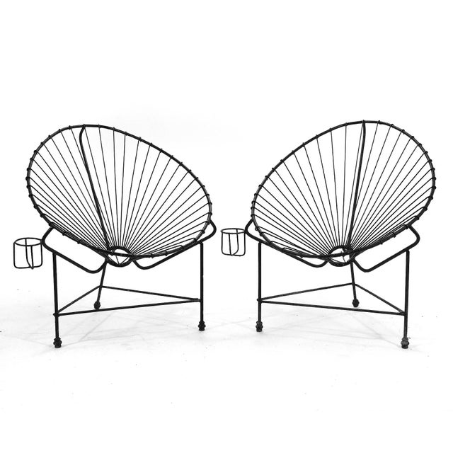 Swell Pair Of Acapulco Chairs Spiritservingveterans Wood Chair Design Ideas Spiritservingveteransorg