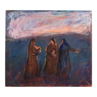 The Three Marys by Mogens Hoff For Sale