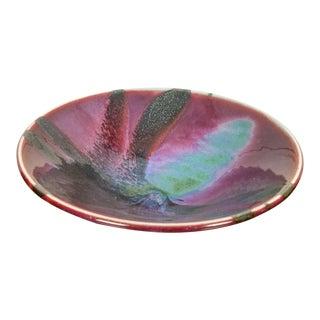 Marc Matsui 9'' Multicolor Glazed Bowl