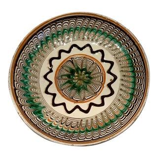 Vintage Glazed Dish For Sale