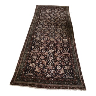 Early 20th Century Vintage Persian Malayer Runner- 3′4″ × 9′2″ For Sale