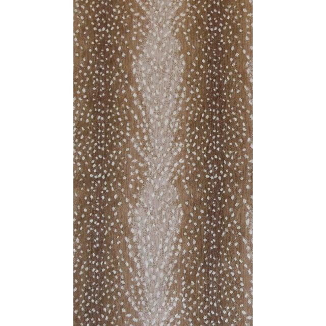 """Only One Left!!! X-Large 55"""" Custom Tailored Deer Fawn Velvety Chenille Christmas Tree Skirt - Image 9 of 9"""