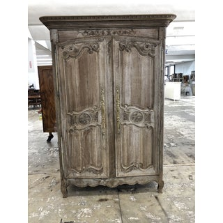 French Louis XV Carved Oak Armoire Preview