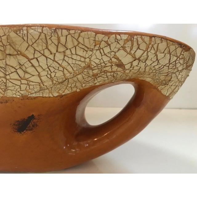 Ceramic Studio Pottery Glazed Centerpiece Bowl For Sale - Image 7 of 7