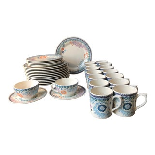Sultana Pattern Gien France Dinnerware