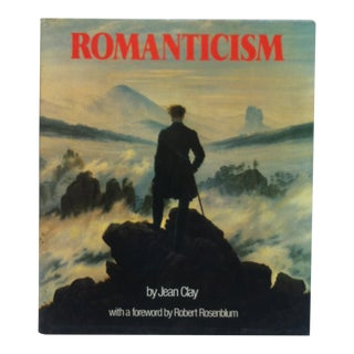 """Coffee Table Display Book """"Romanticism"""" by Jean Clay - 1980 For Sale"""