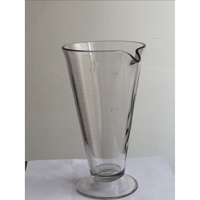Vintage Lab Glass Vase - Image 3 of 6