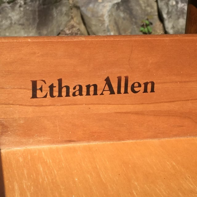 Ethan Allen Birchwood Nightstand For Sale - Image 11 of 11