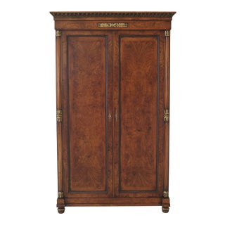 Giemme Francesco Molon Italian Walnut Bedroom Armoire For Sale