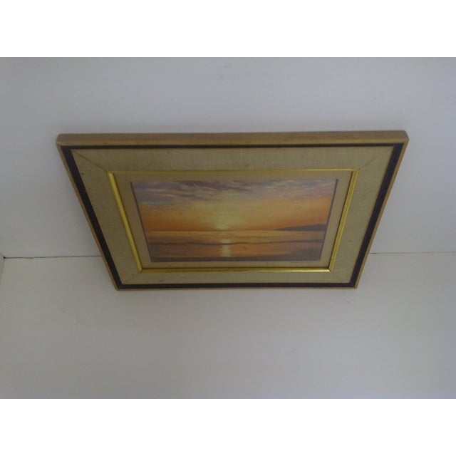"""""""Ocean at Sunset"""", Pastel Painting by Frank Rupp - Image 5 of 6"""