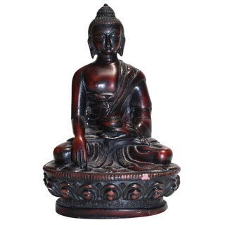 Small Wooden Buddha Statue For Sale