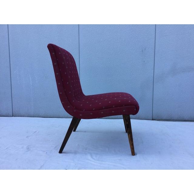 1960's Modern Slipper Chair - Image 4 of 9
