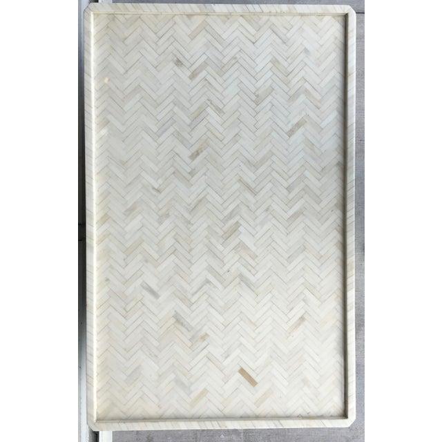 Tessellated Bone Coffee Table - Image 5 of 7