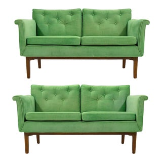 Edward Wormley Pair of Sofas / Settees For Sale