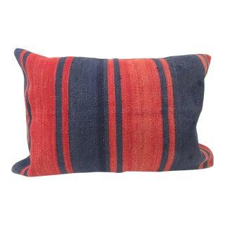 Vintage Kilim Decorative Pillow Cover For Sale