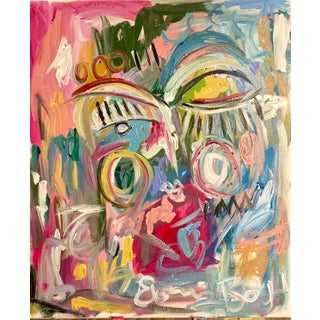 """""""Abstract Face"""" by Ebony Boyd Art For Sale"""