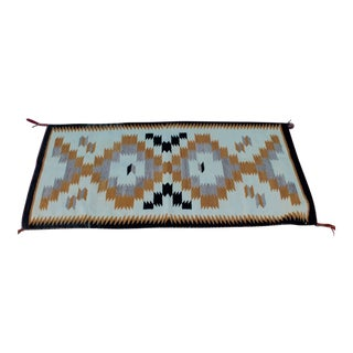 Navajo Indian Weaving Saddle Blanket