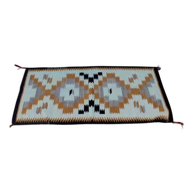 Navajo Indian Weaving Saddle Blanket For Sale