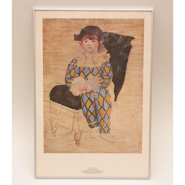 Vintage 1980 S.P.A.D.E.M-issued lithograph on Arches paper, in a limited edition of 5000. This portrait features a little...
