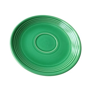 Vintage Original Green Fiesta Saucer For Sale