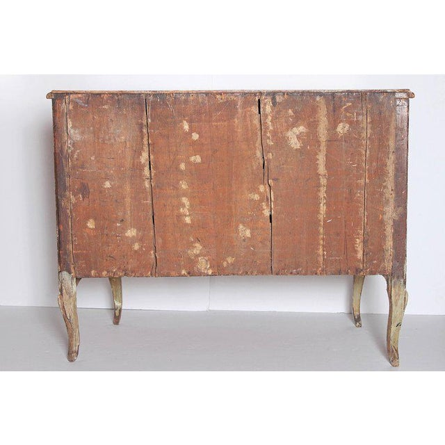 18th Century Italian Painted Commode For Sale - Image 10 of 13