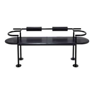 Postmodern Bench in the Manner of Ettore Sottsass For Sale