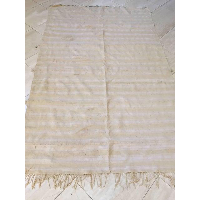 Moroccan Wedding Berber Blanket For Sale - Image 9 of 10