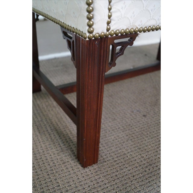 Chippendale-Style Settee Bench For Sale In Philadelphia - Image 6 of 8