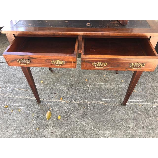 19th Century 19th Century Edwardian Rosewood Ladies Writing Desk For Sale - Image 5 of 7