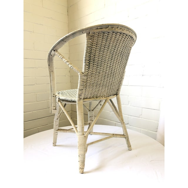Art Deco Early 20th Century Wicker Child's Chair For Sale - Image 3 of 13