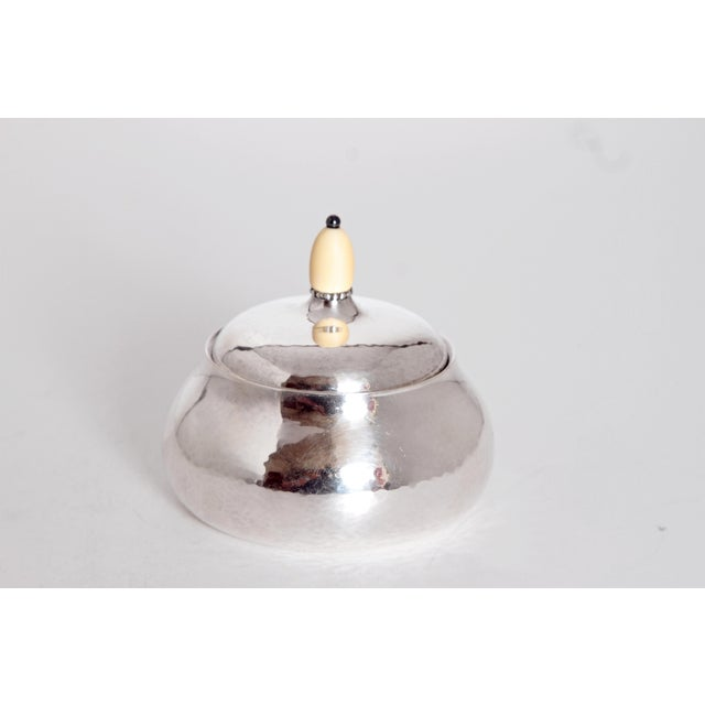 Silver Sterling Silver Coffee Set by Georg Jensen For Sale - Image 8 of 11