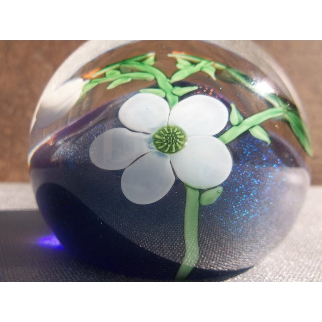 Orient Flume Crystal Cased B Sillars Paperweight - Image 8 of 11
