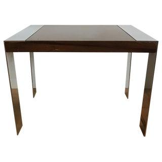 Mid-Century Milo Baughman Rosewood Flatbar Table