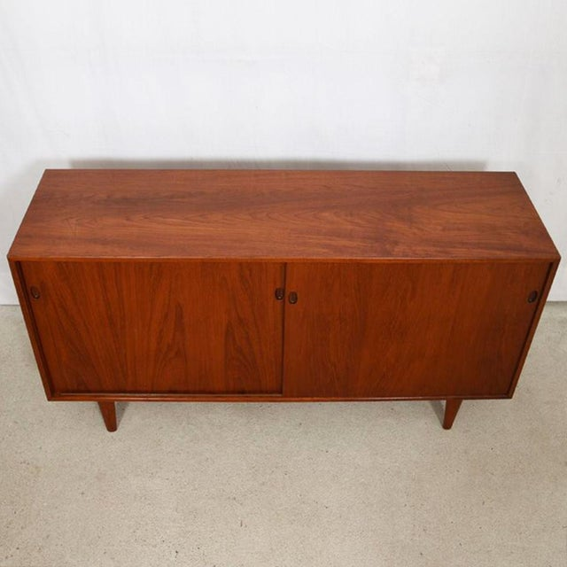 Danish Modern 1950s Kofod Larsen Danish Teak Cabinet / Room Divider For Sale - Image 3 of 9